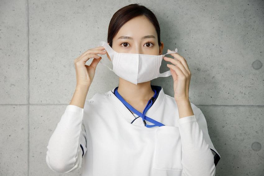 サージカルマスク(マスク)の着用